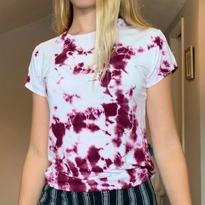 Tie dye shirt from pacsun